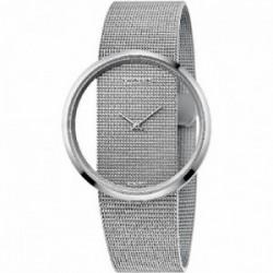 Reloj CK mujer acero brazalete esterilla K9423T27