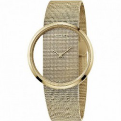 Reloj CK en acero PVD dorado K9423Y29