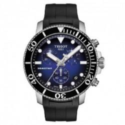 Reloj Tissot V8 de hombre deportivo en acero con esfera negra T1064171105100.